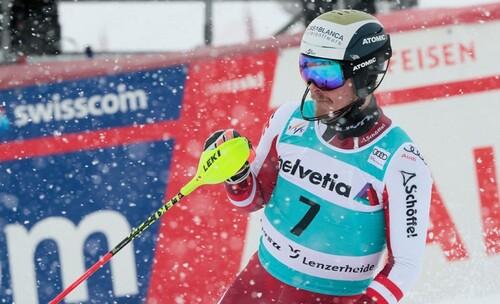 Горные лыжи. Феллер выиграл финал сезона в слаломе