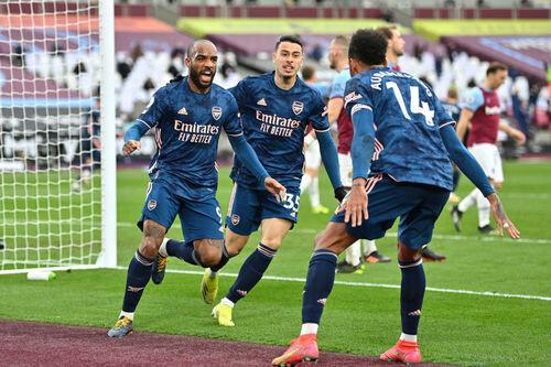 Арсенал вырвал ничью у Вест Хэма, проигрывая 0:3 на 32-й минуте