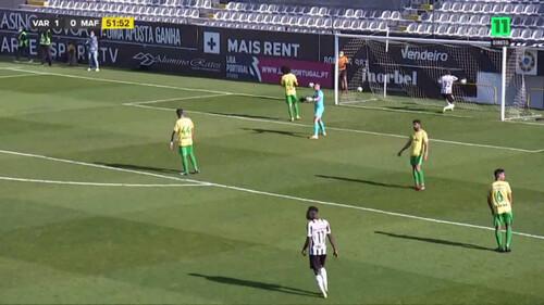ВІДЕО. Неймовірний гол! У Португалії воротар забив ударом через все поле