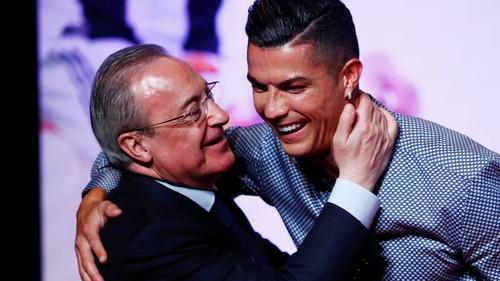 Роналду встретился с Флорентино Пересом