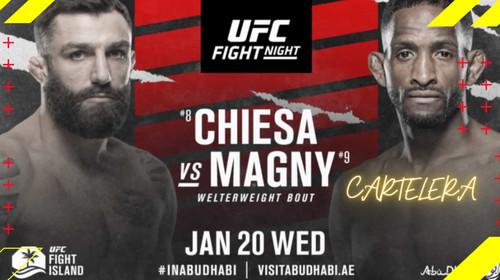 Где смотреть онлайн бой UFC: Майкл Кьеза – Нил Магни