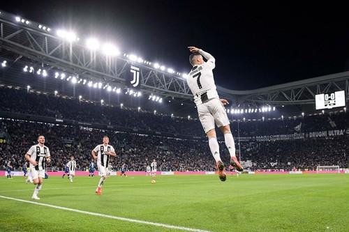 ВИДЕО. Роналду открыл счет для Ювентуса в матче за Суперкубок Италии