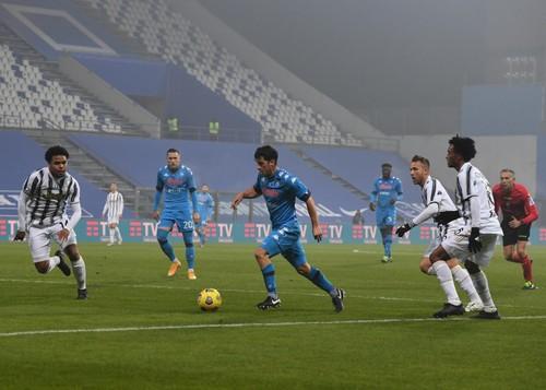 Ювентус у матчі за Суперкубок Італії обіграв Наполі