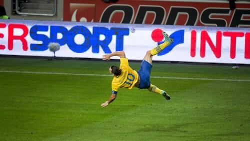 Златан ИБРАГИМОВИЧ: «Я своей игрой заслужил вернуться в сборную Швеции»