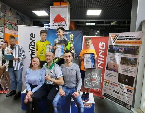 В Киеве состоялся Чемпионат Украины по сквошу среди юниоров. Кто же победил