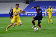 Матвиенко стал лучшим игроком сборной Украины в матче с Францией