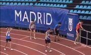 ВИДЕОШОК. Как спринтер-победитель отправился на платформу 9 и три четверти