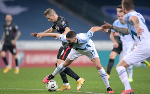 Россия забила 3 гола аутсайдеру, Словения удивила Хорватию