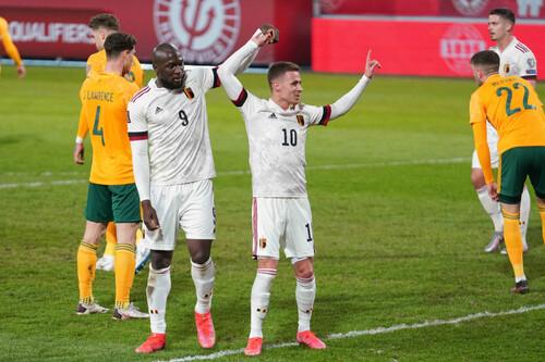 Бельгия – Уэльс – 3:1. Де Брюйне, Азар и Лукаку. Видео голов и обзор матча