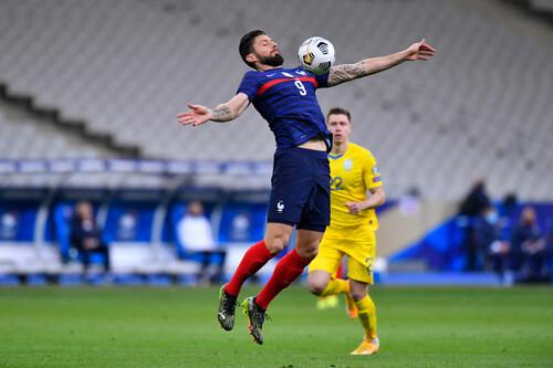 Оливье ЖИРУ: «Мы были удивлены, что мяч не заходил в ворота Украины»