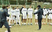 ФОТО. Все здоровы. Сборная Украины готовится к матчу против Финляндии