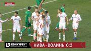 Нива Тернопіль – Волинь – 0:2. Відео голів та огляд матчу