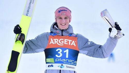 Прыжки с трамплина. Гайгер выиграл второй старт в Планице