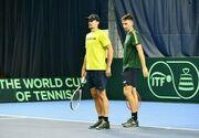 Стаховский и Молчанов уступили в парном финале турнира в Лугано