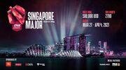 Dota 2 ONE Esports Singapore Major 2021. Календарь и результаты турнира