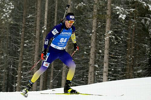 ЧУ-2021 по биатлону. Сестры Дмитренко, Тищенко и Ткаленко выиграли микст