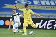 InStat: Малиновский – лучший игрок сборной Украины в матче с Финляндией