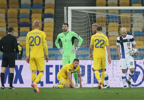 Миколенко стал самым молодым игроком сборной, заработавшим удаление