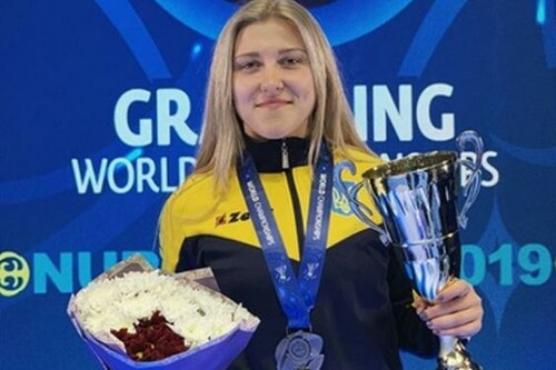ВИДЕО. Украинка Шакалова бросила соперницу через себя на турнире FEN 33