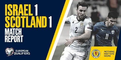 Израиль – Шотландия – 1:1. Видео голов и обзор матча