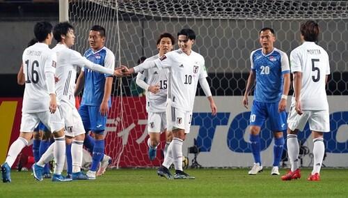 14:0! Япония поиздевалась над Монголией в отборе на ЧМ