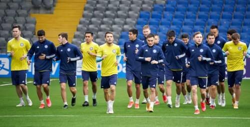 Определился состав сборной Казахстана на матч с Украиной