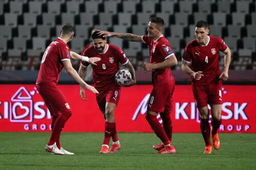 Азербайджан – Сербия – 1:2. Дубль Митровича. Видео голов и обзор матча