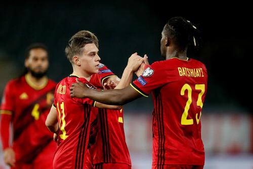 Бельгия забила 8 мячей Беларуси, ассист Бэйла помог Уэльсу обыграть Чехию