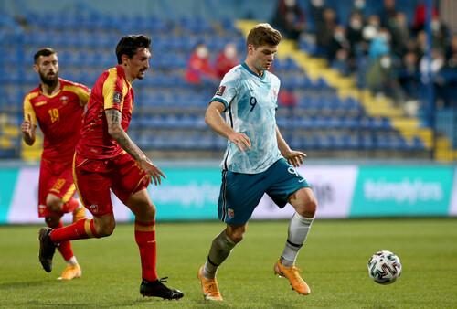 Черногория – Норвегия – 0:1. Видео гола и обзор матча