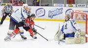 УХЛ. Донбасс не без проблем обыграл Днепр в матче плей-офф