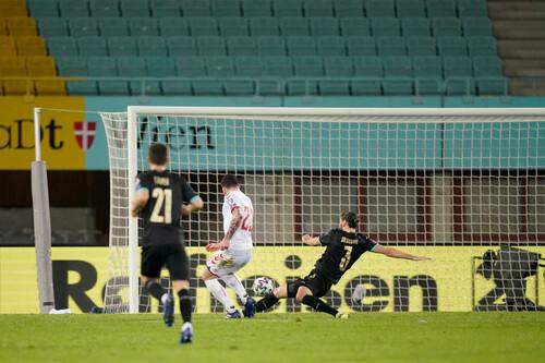 Австрия – Дания – 0:4. Видео голов и обзор матча