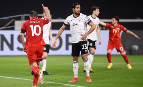 Тренер Северной Македонии: «Обыграли Германию - будто выиграли Евро»