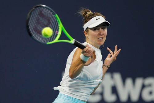 Свитолина проиграла первой ракетке мира в полуфинале турнира в Майами