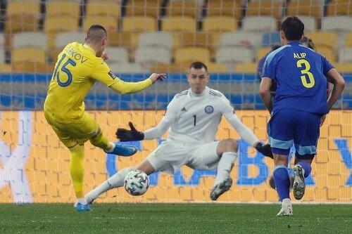 Казахстан, держи четыре. Украина побила свой рекорд по ожидаемым голам
