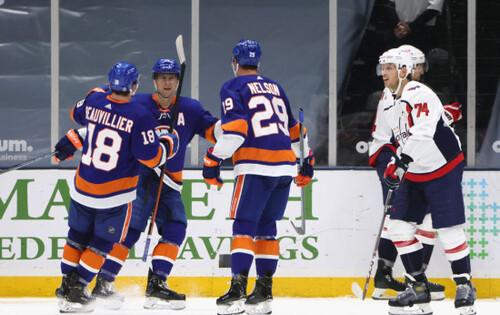 НХЛ. 12 шайб Айлендерс і Вашингтона, перемоги Піттсбурга, Тампи і Рейнджерс