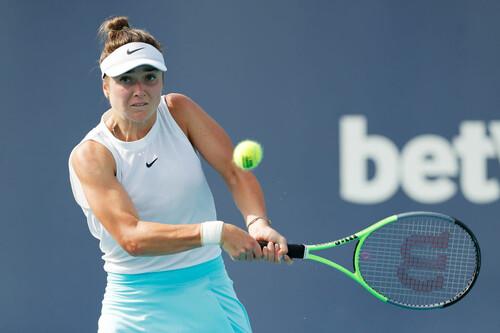 Элина СВИТОЛИНА: «Неплохая неделя тенниса в Майами»