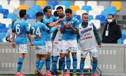 Серия A. 7 голов в матче Наполи, победа Лацио, ничья Ромы