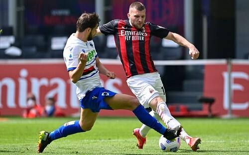 Серия А. Милан в большинстве не смог обыграть Сампдорию