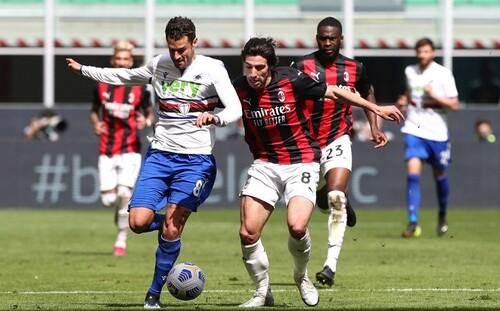 Милан – Сампдория – 1:1. Шедевр Квальяреллы. Видео голов и обзор матча