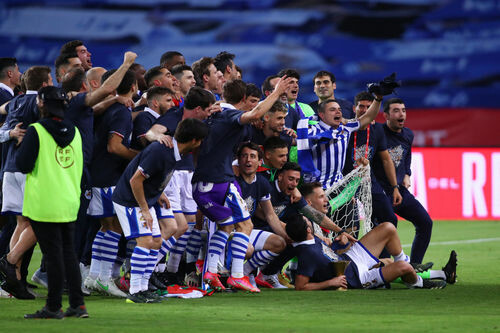 Турнир затянулся. Реал Сосьедад выиграл Кубок Испании прошлого сезона
