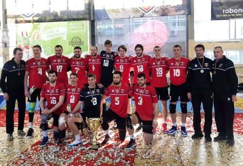 Волейболисты Днепра завоевали право выступать в мужской Суперлиге