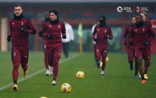 Три игрока Милана вышли из карантина
