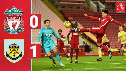 Ливерпуль–Бернли – 0:1. Видео гола и обзор матча