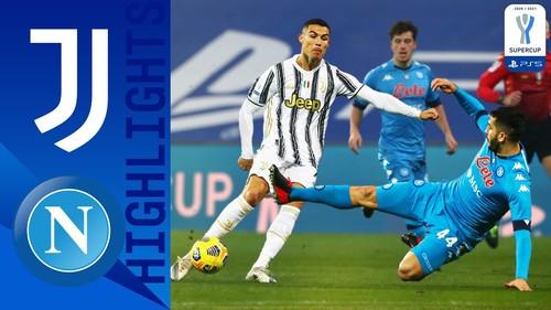 Ювентус – Наполи – 2:0. Видео голов и обзор матча
