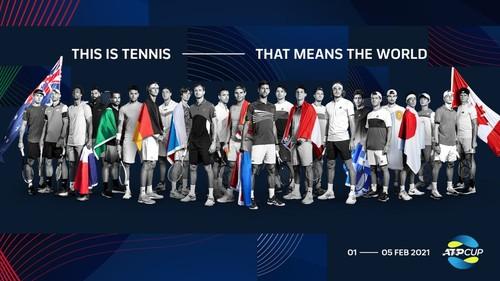 Відбулося жеребкування ATP Cup