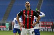 Источник: Ибрагимович продлил контракт с Миланом