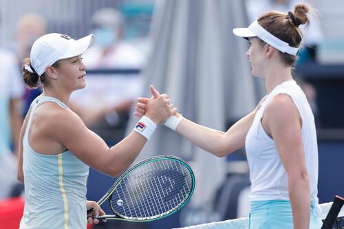 Рейтинг WTA. Свитолина укрепилась в топ-5, Барти сохранила первую строчку