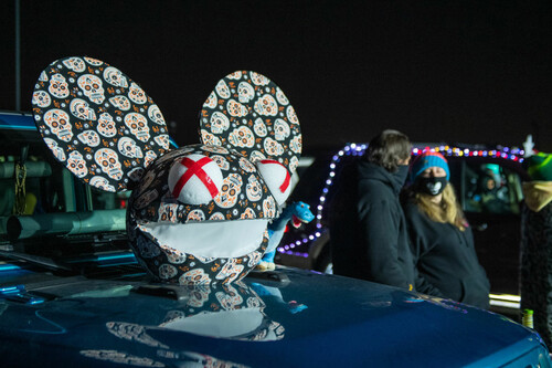 Покер-рум провел 1,5 часовой концерт диджея deadmau5