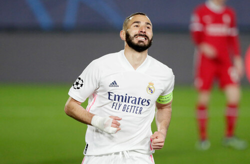 Бензема вышел на четвертое место в Реале по матчам в Лиге чемпионов