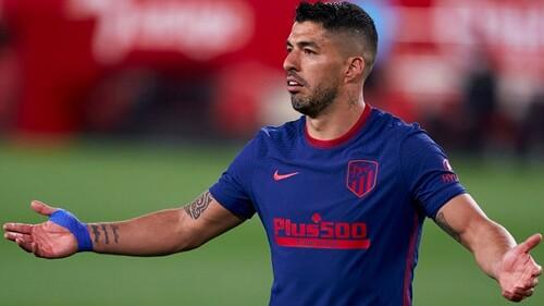 Суарес получил травму на тренировке Атлетико